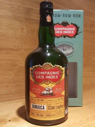 Compagnie des Indes Jamaica Long Pond Single Cask Rum 12 Jahre