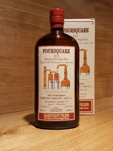 Habitation Velier Foursquare 2013 Pure Single Rum