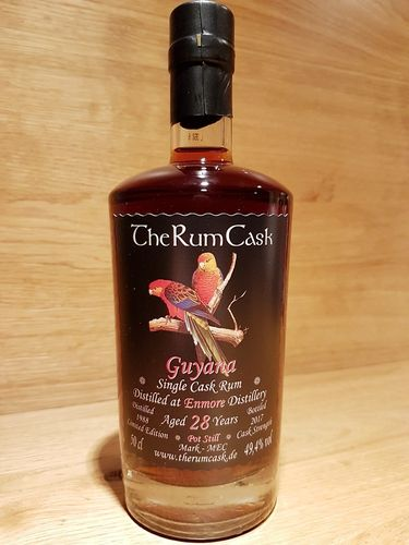 The Rum Cask Single Cask Rum 1988 Enmore Destillerie 28 Jahre