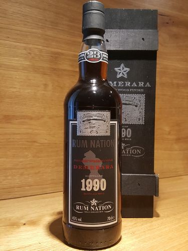 Rum Nation Old Demerara 23 Jahre 1990 Sherry Wood Finish