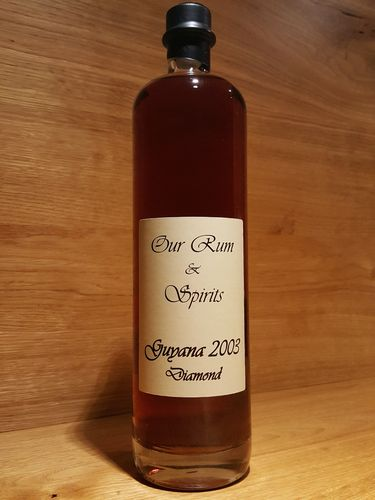 Our Rum & Spirits - Guyana Diamond 12 Jahre 2003/2016