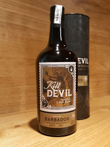 Kill Devil Barbados W.I.R. Distillery 16 Jahre