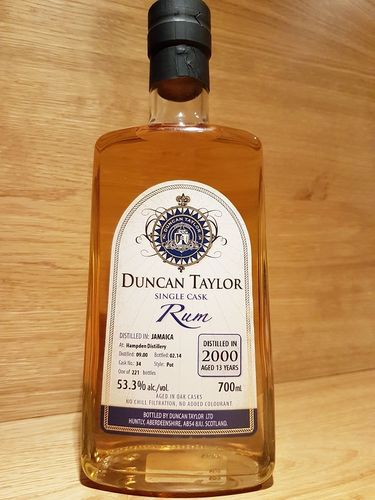 Duncan Taylor Hampden Single Cask #34 13 Jahre 2000/2014