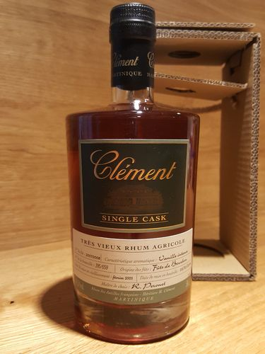 "Clement Rhum Vieux Single Cask ""Vanille Intense"""