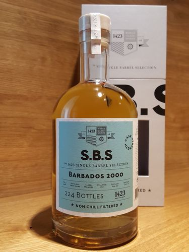 1423 S.B.S BARBADOS West Indies Cask Strength Rum
