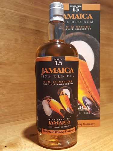 Silver Seal Jamaica Rum Long Pond 15 jahre 2000-2015