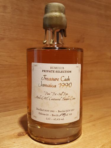 Rumclub Private Selection 1990 Hampden 26 Years