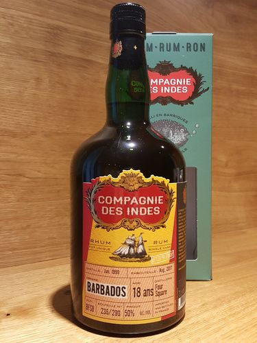 Compagnie des Indes Foursquare Barbados Single Cask 18 Jahre