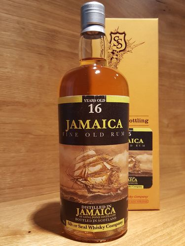 Silver Seal Long Pond Jamaica Fine Old Rum 16 Years Old 2000