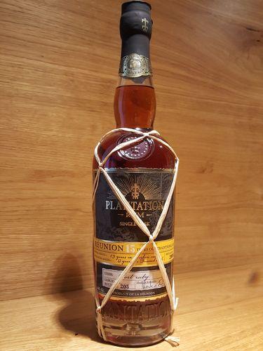 Plantation La Réunion 15 Jahre Traditional Rum - Port Ruby Finish