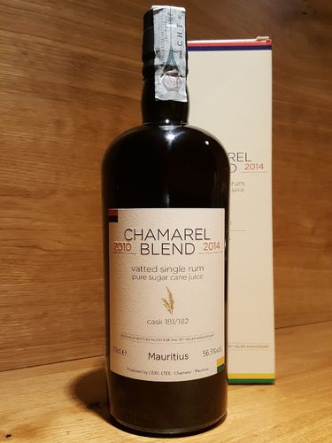 CHAMAREL 2010 Blend 2014 Single Rum 70th Velier