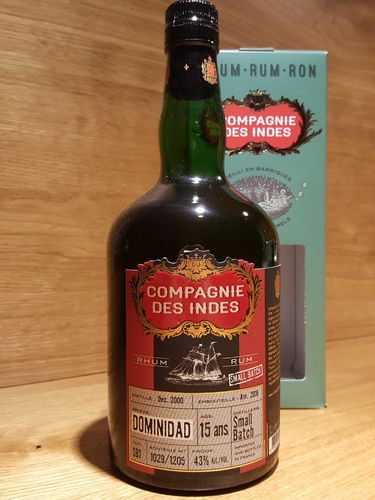 Compagnie des Indes Dominidad 15 Jahre Small Batch Rum