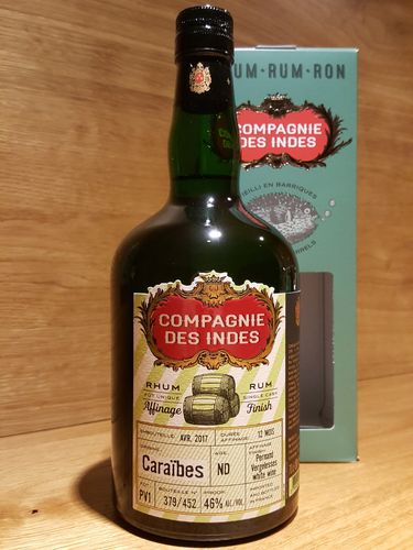 Compagnie Des Indes Caraibes Finish in Pernand Vergelesses Rum