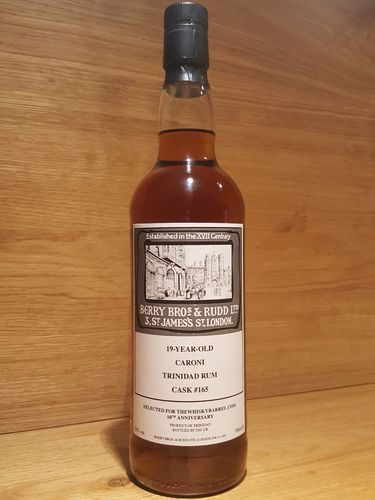 Berry Bros & Rudd Caroni 19 Jahre 1998/2017 Single Cask - The Whisky Barrel