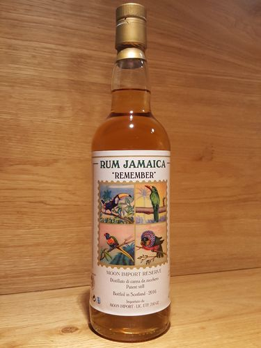 Moon Import Jamaica Rum REMEMBER Reserve