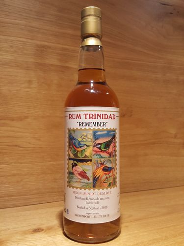 Moon Import Trinidad Rum REMEMBER Reserve