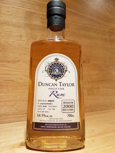 Duncan Taylor Long Pond Single Cask Jamaica 16 Jahre 2000/2017