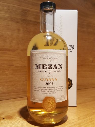 Mezan Single Distillery Rum Guyana 2003
