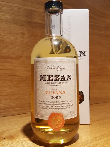 Mezan Single Distillery Rum Guyana 2005