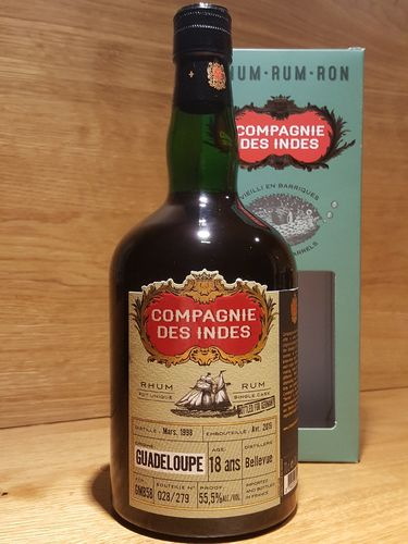 Compagnie des Indes Guadeloupe 18 Jahre Cask Strength Rum