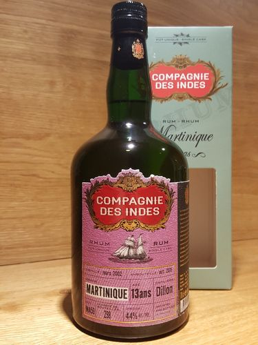 Compagnie des Indes Martinique 13 Jahre Single Cask Rum