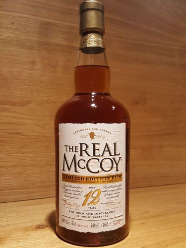 The Real McCoy 12 Years Limited Edition Madeira Cask Rum
