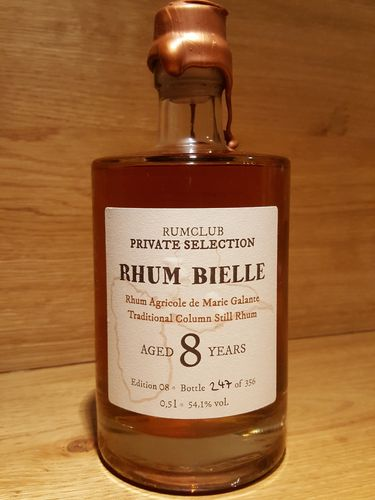 Rumclub Private Selection Ed. 8 Rhum Bielle 8 YO Marie Galante