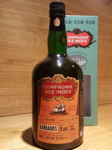 Compagnie des Indes Foursquare Barbados Single Cask Rum 9 Jahre Cask Strength