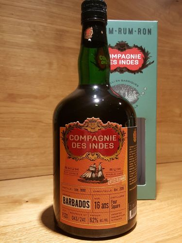 Compagnie des Indes Foursquare Barbados 16 Jahre - Bottled for Denmark