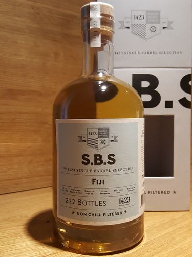 1423 S.B.S. Fiji South Pacific Rum 12 Jahre