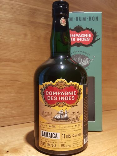 Compagnie des Indes Clarendon Jamaica Single Cask 11 Jahre