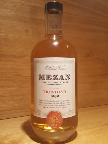 Mezan Single Distillery Rum Caroni 1999