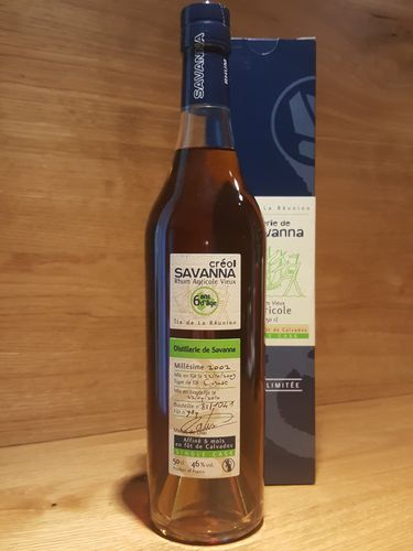 Savanna Creol Rhum Vieux Agricole Single Cask 6YO 2003/2010