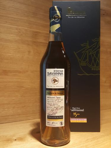 Savanna Intense Rhum Vieux Traditionnel Single Cask 15YO 1999/2015