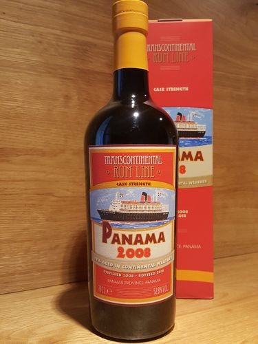 Transcontinental Rum Line Panama 2008 Cask Strength
