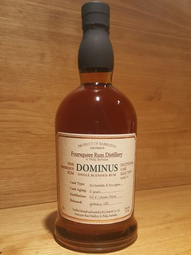 Foursquare Dominus 10 Jahre Single Blended Rum