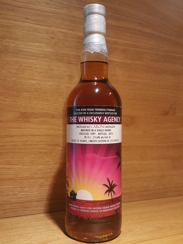 The Whisky Agency Caroni 1997/2013 Single Barrel