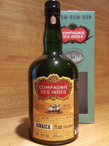 Compagnie des Indes Clarendon Jamaica Single Cask Rum 11 Jahre