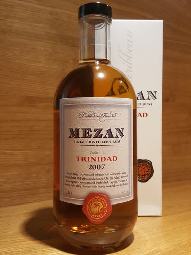 Mezan Single Distillery Rum Trinidad 2007