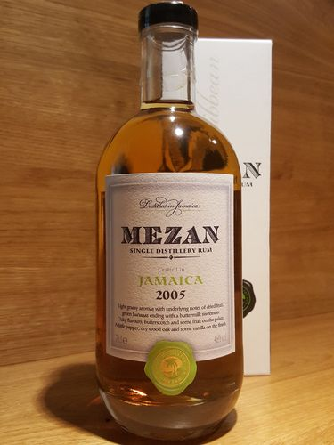 Mezan Single Distillery Rum Jamaica 2005 Worthy Park