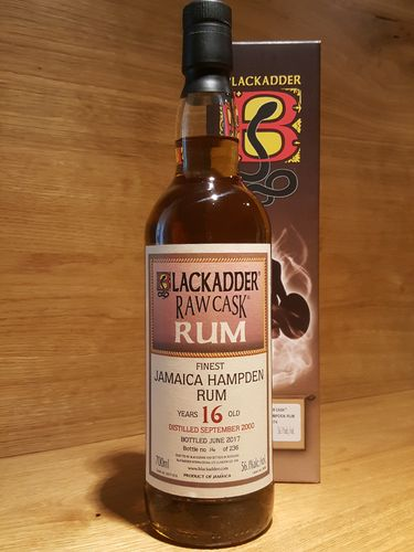 Blackadder Raw Cask Jamaica Hampden 16 Jahre