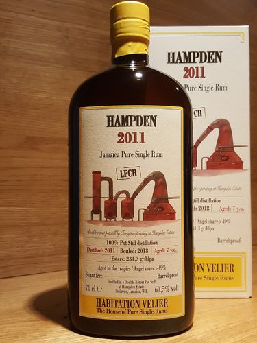 Habitation Velier Hampden LFCH 2011 Jamaica Pure Single Rum