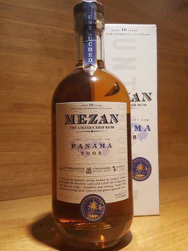 Mezan Single Distillery Rum Panama 2008