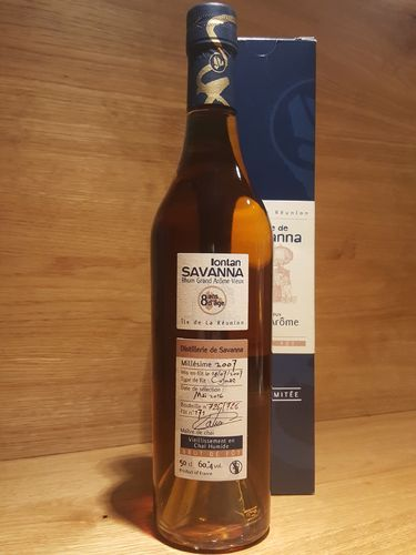 Savanna Grand Arôme Chai Humide Single Cask 8Y.O. 2007-2016