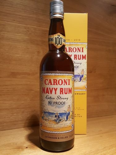Caroni Navy Rum 100th Anniversary 18 y.o. 90 Proof
