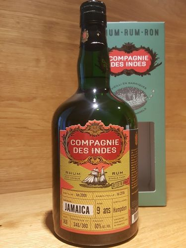 Compagnie des Indes Hampden Jamaica Single Cask 9 Jahre