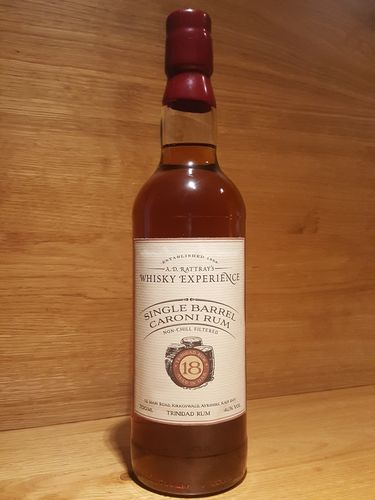 A.D. Rattray´s Whisky Experience Single Barrel Caroni Rum 18 Jahre