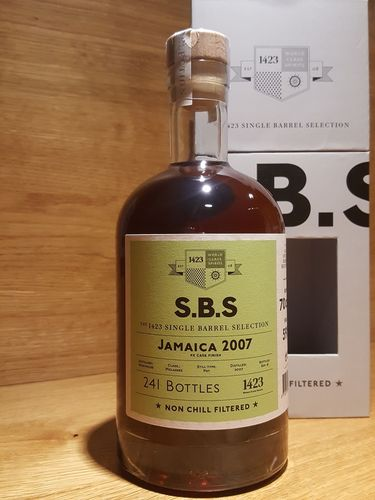 1423 S.B.S. Jamaica 2007 Monymusk PX Cask Finish