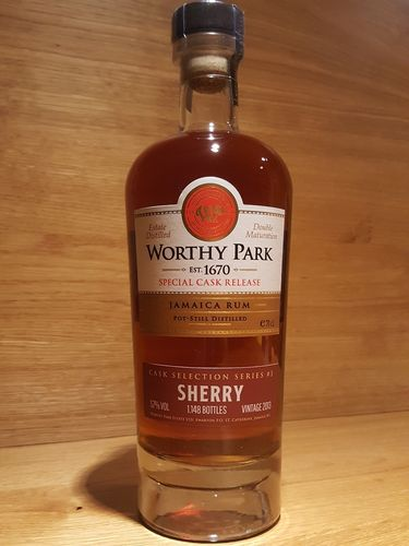 Worthy Park Special Cask Sherry 2018