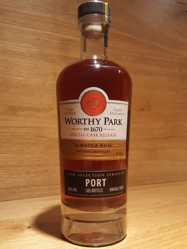Worthy Park Special Cask Port 2018